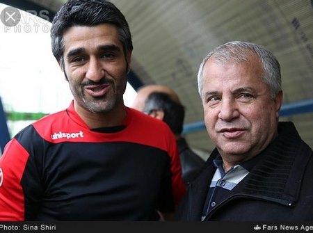 پژمان جمشیدی و علی پروین