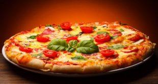 طرز تهیه کیک پیتزا بدون فر