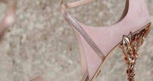 مدل کفش عروس پاشنه کوتاه