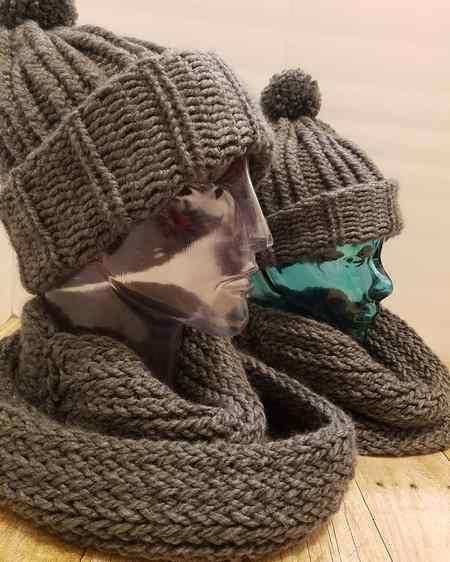 جدیدترین مدلهای شال و کلاه بافتنی