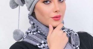 مدل کلاه بافتني زنانه شيک