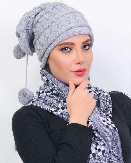 مدل کلاه بافتنی زنانه شیک