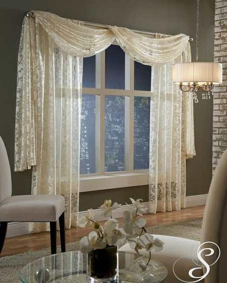 مدل پردهای گیپور برای اتاق خواب