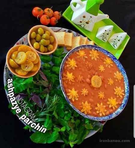 طرز تهیه خوراک لوبیا چیتی با هویج