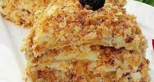 طرز تهیه شیرینی ناپلئونی دو نفره