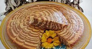 طرز تهیه کیک زبرا
