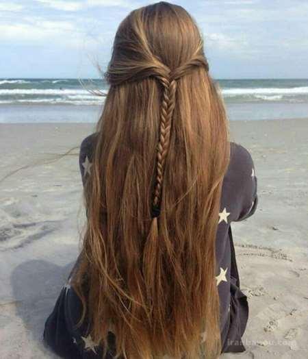 رنگ موی زیتونی تیره