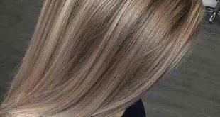 رنگ موی عسلی دودی