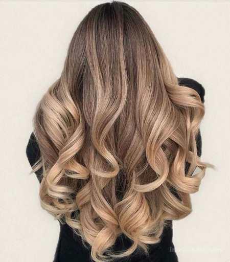 رنگ موی نسکافه ای اورآل
