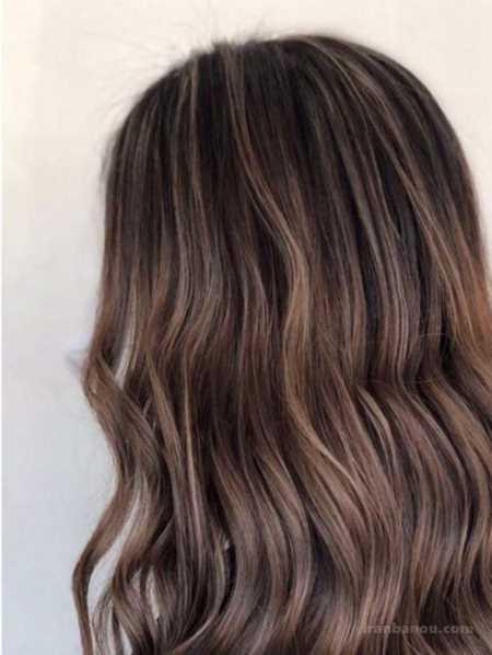 کاتالوگ رنگ موی زیتونی