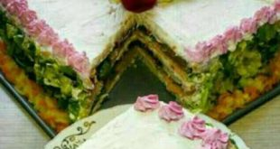 طرز تهیه چند مدل کیک مرغ پنیری