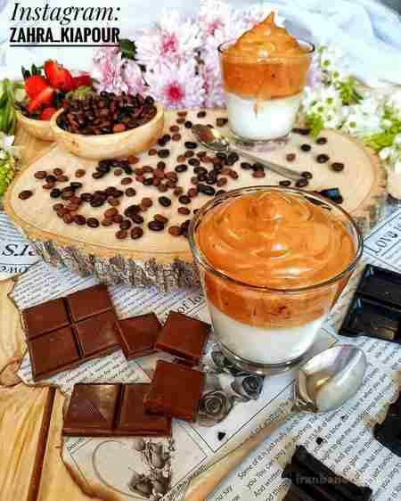طرز تهیه ی قهوه دالگونا بدون شکر