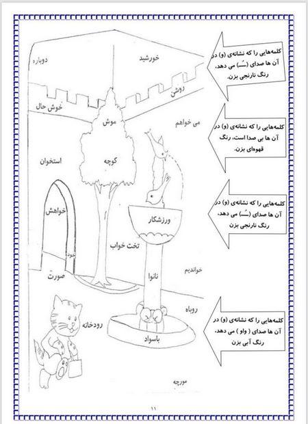 فارسی کلاس دوم