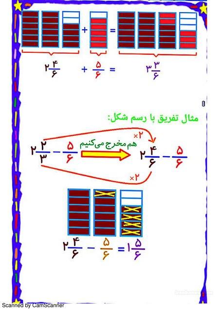 ریاضیات پنجم