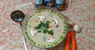 طرز تهیه سوپ شلغم با شیر