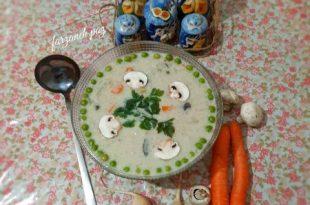 سوپ شیر و شلغم