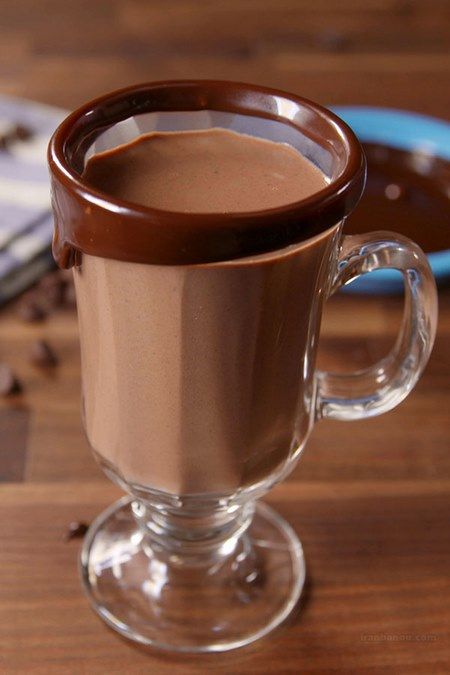 طرز تهیه شیر کاکائو و شکلات داغ
