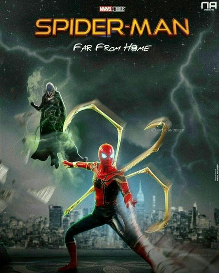 پروفایل مرد عنکبوتی