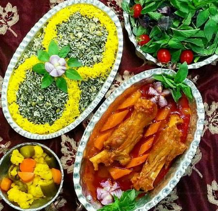 لیست غذا برای افطار