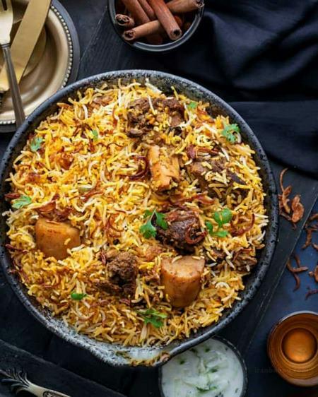 پلو گوشت هندی