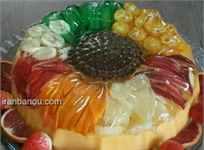 انواع ژله میوه ای