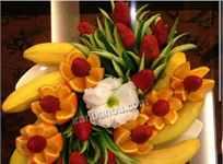 تزیین ظرف میوه مجلسی
